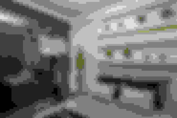Habitaciones de estilo  por Designer de Interiores e Paisagista Iara Kílaris
