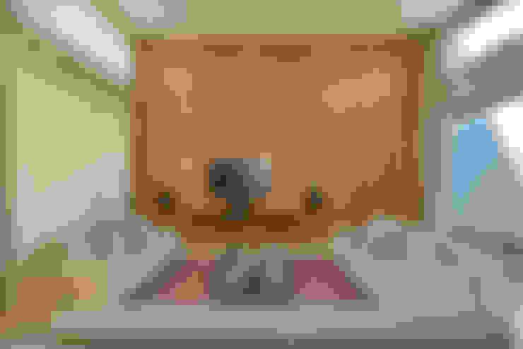 غرفة الميديا تنفيذ Beth Marquez Interiores