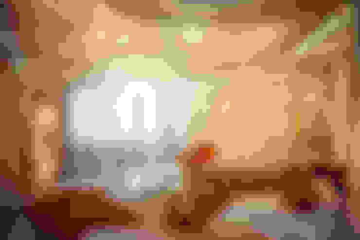 Футуристическая квартира в Москве: Гостиная в . Автор – Cтудия дизайна Станислава Орехова