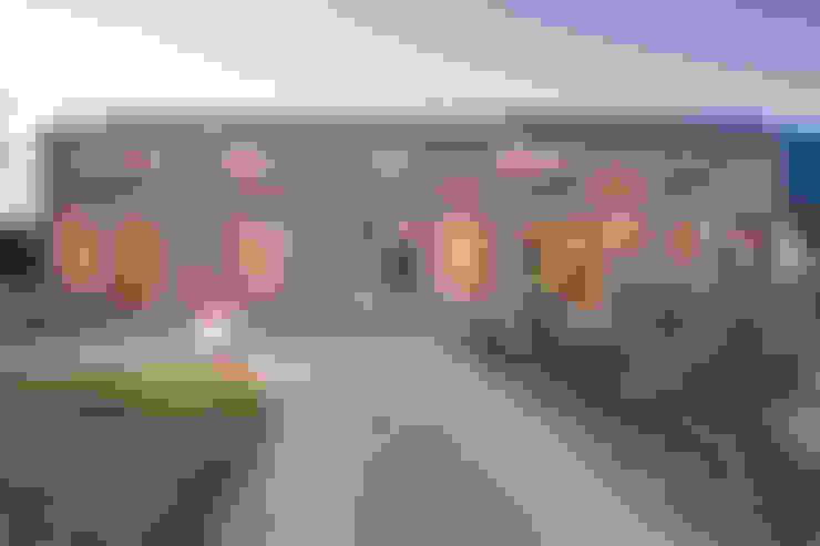 Projekty,  Dom z drewna zaprojektowane przez k² Architektur