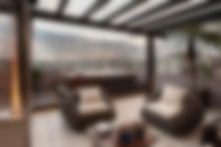 Terraço: Terraços  por Adriane Cesa Arquitetura