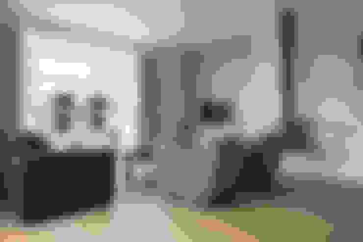Overzicht van de woonkamer :  Woonkamer door Hemels Wonen interieuradvies