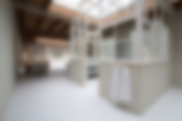 de open badkamer!:  Badkamer door Architectenbureau Vroom