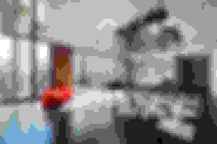 Salas de entretenimiento de estilo  por Tommaso Giunchi Architect