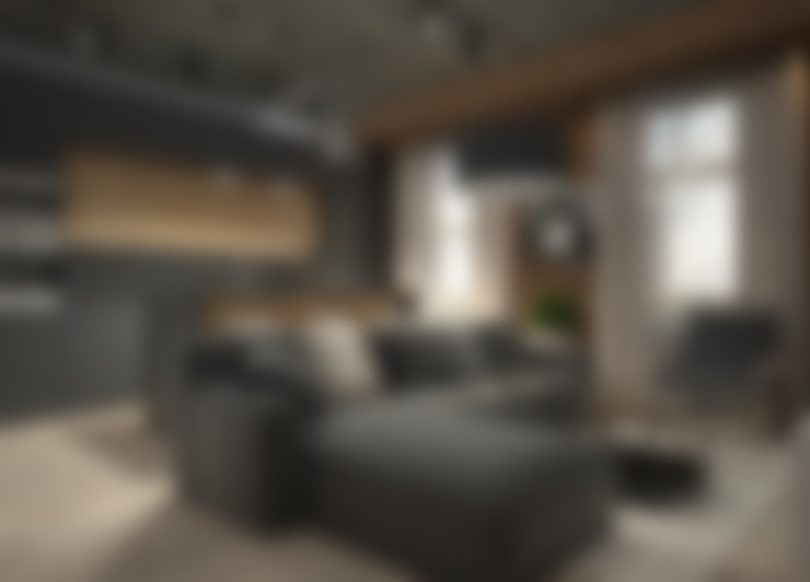 Living room by Elena Arsentyeva