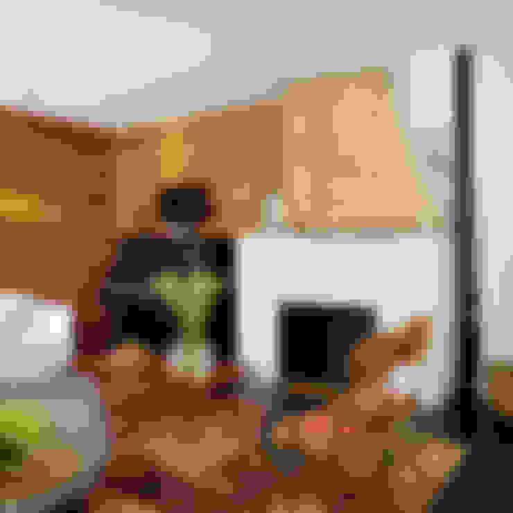 Livings de estilo  por Hugh Jefferson Randolph Architects