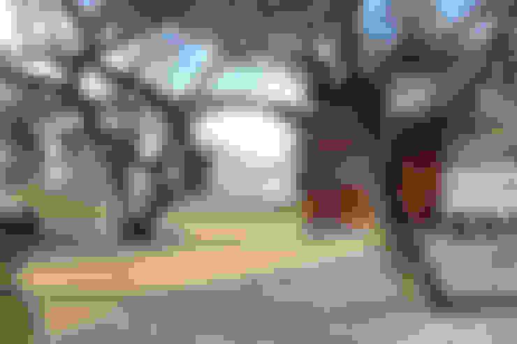 Tuin door VG+VM Arquitectos