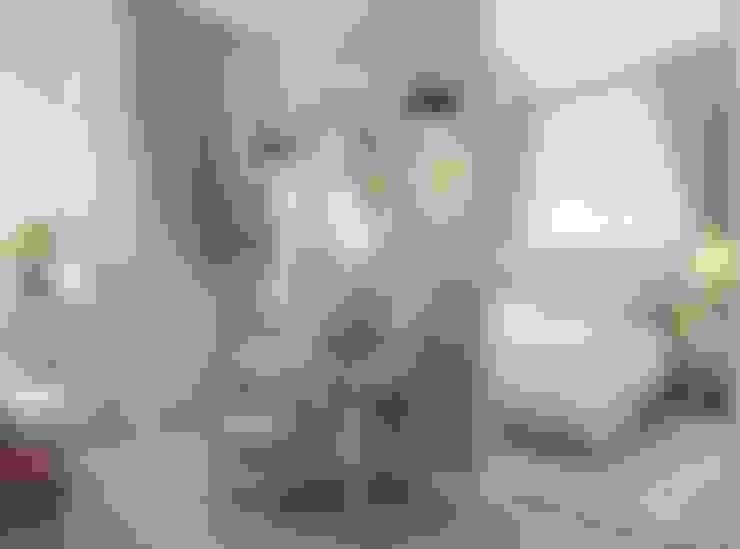 غرفة نوم تنفيذ The Аrt of interior from Olga Kalinina