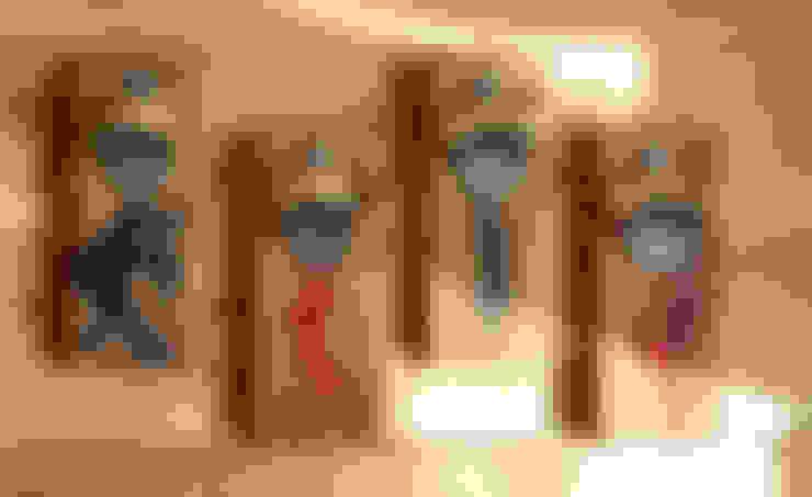 RusticWoodenArt – Duvara monte açacak - Dancers series:  tarz Mutfak