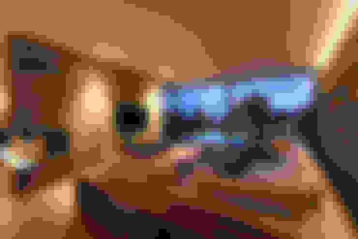 Гостиная в . Автор – DG/D Architekten