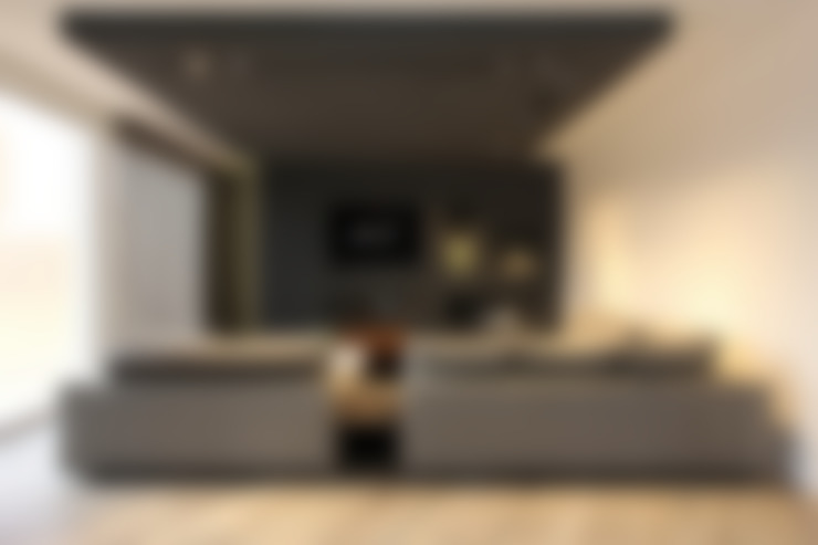 Woonkamer:  Woonkamer door Leonardus interieurarchitect