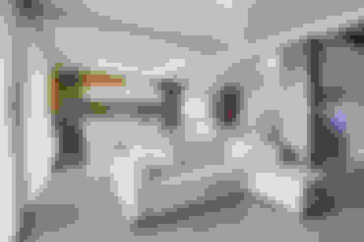 Living room by DK architektura wnętrz