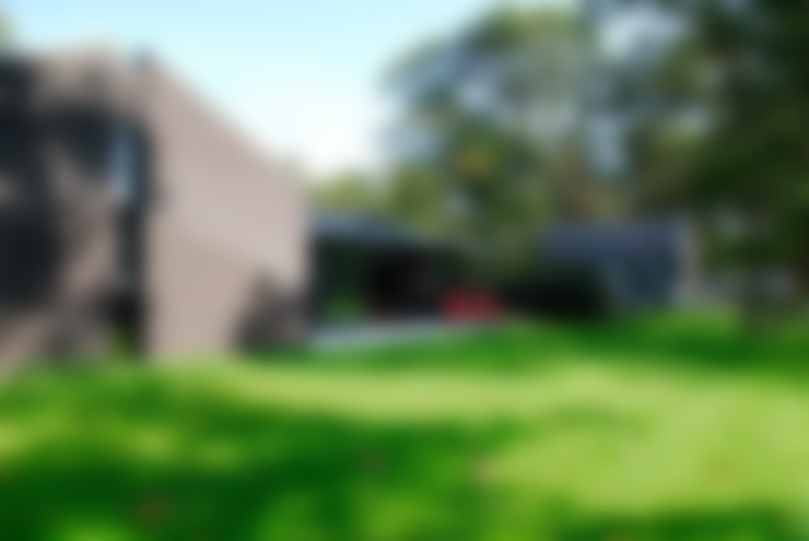 achterzijde:  Huizen door Villa Delphia