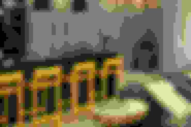 Projeto de Interior Área Social Apartamento: Cozinhas  por Kubbo Arquitetos