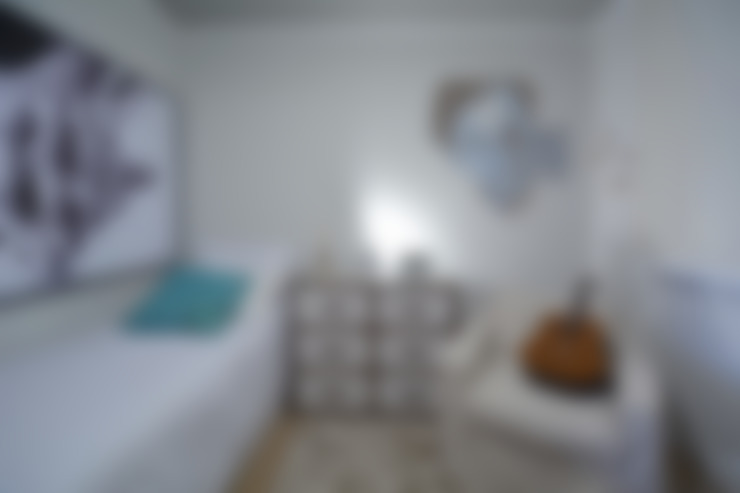 غرفة نوم تنفيذ Michele Moncks Arquitetura