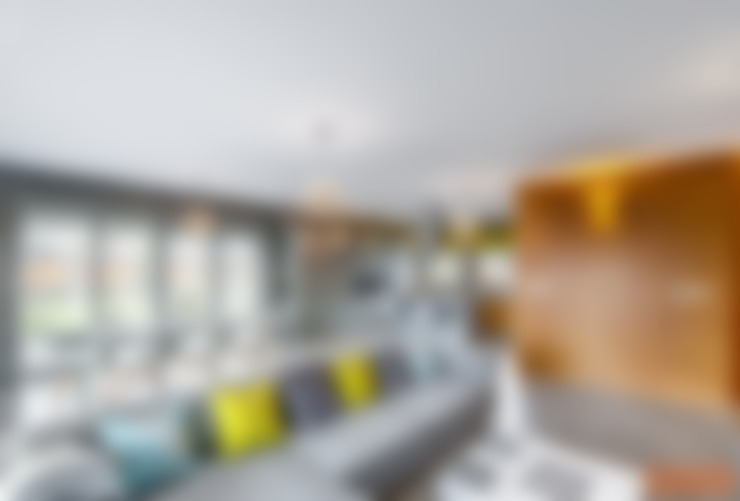 Salon de style  par COCO Pracownia projektowania wnętrz