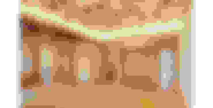 판교 시전당: 제이에이치와이 건축사사무소의  거실