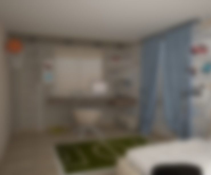 Квартира в стиле лофт (г.Москва): Детские комнаты в . Автор – DS Fresco