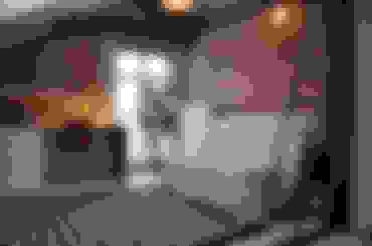 Salas / recibidores de estilo  por ENDE marcin lewandowicz