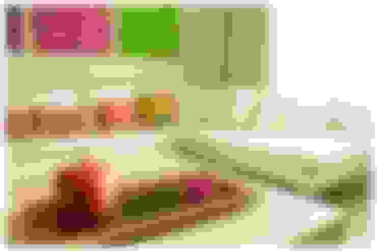 Salas / recibidores de estilo  por Cardellach Interior & Events