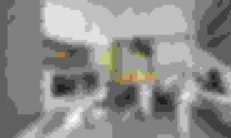 ДОМ В ПОСЕЛКЕ ПОЛИВАНОВО (визуализация): Кухни в . Автор – ALEXANDER ZHIDKOV ARCHITECT