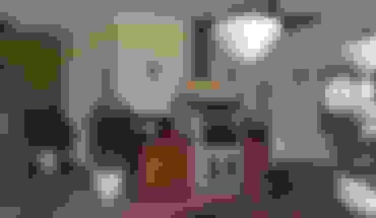 CASA NO CAMPO: Cozinhas  por Kika Prata Arquitetura e Interiores.