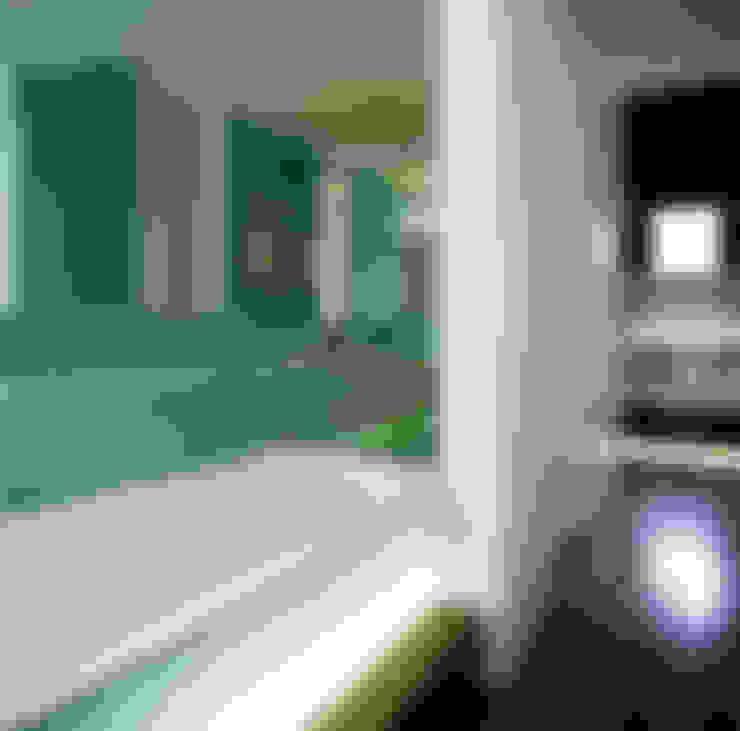 浴室 by Jonathan Clark Architects