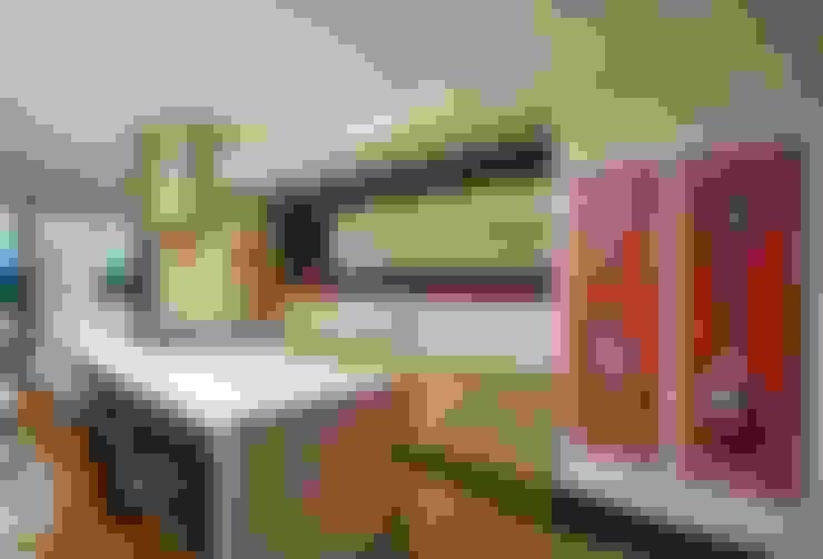 Projeto Casa Moderna - Jorge Elmor: Cozinhas  por Elmor Arquitetura