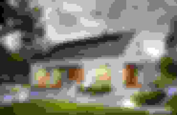 Projekt domu Magnus G2 ENERGO PLUS : styl , w kategorii Domy zaprojektowany przez Pracownia Projektowa ARCHIPELAG