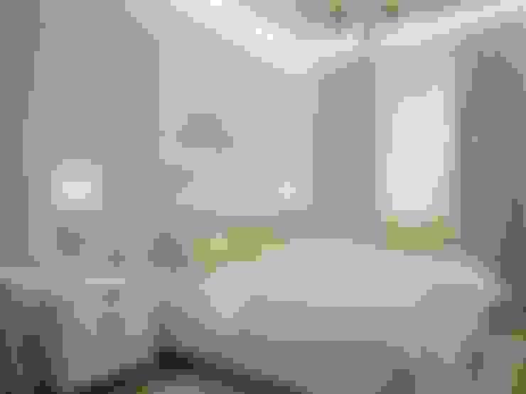 Таунхаус в коттеджном поселке Артек: Спальни в . Автор – Мастерская дизайна ЭГО