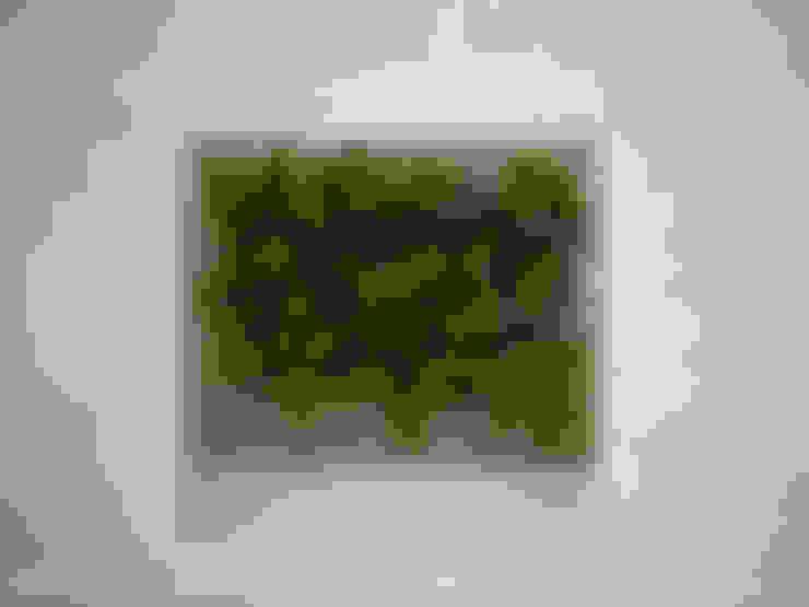 Florama duża beżowa: styl , w kategorii Zieleń wewnątrz zaprojektowany przez FLORABO2