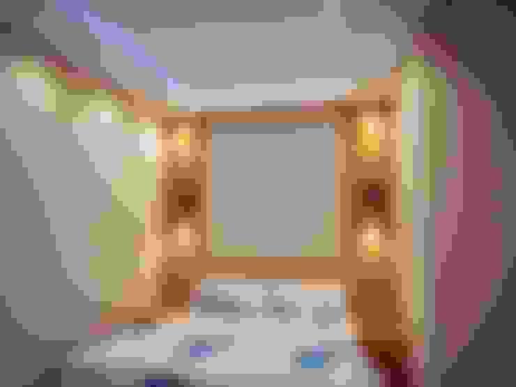 Спальная комната  в . Автор – PORTAKAL MİMARLIK MÜHENDİSLİK İNŞAAT RÖLÖVE VE RESTORASYON