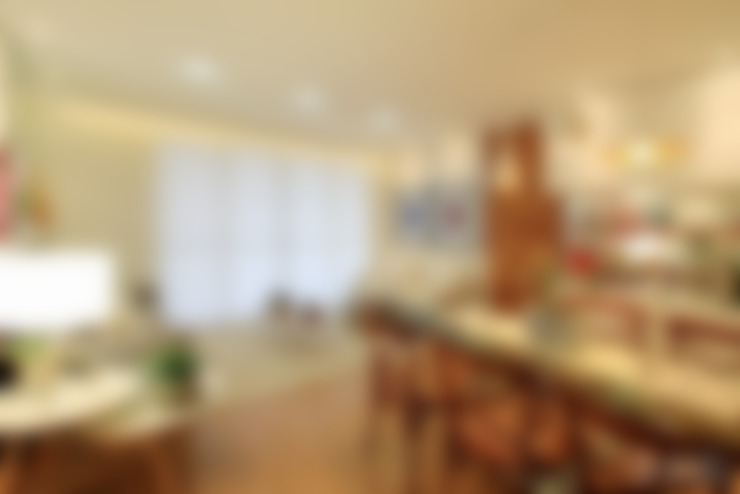 Salas de Estar e Jantar: Salas de estar  por Camila Tannous Arquitetura & Interiores