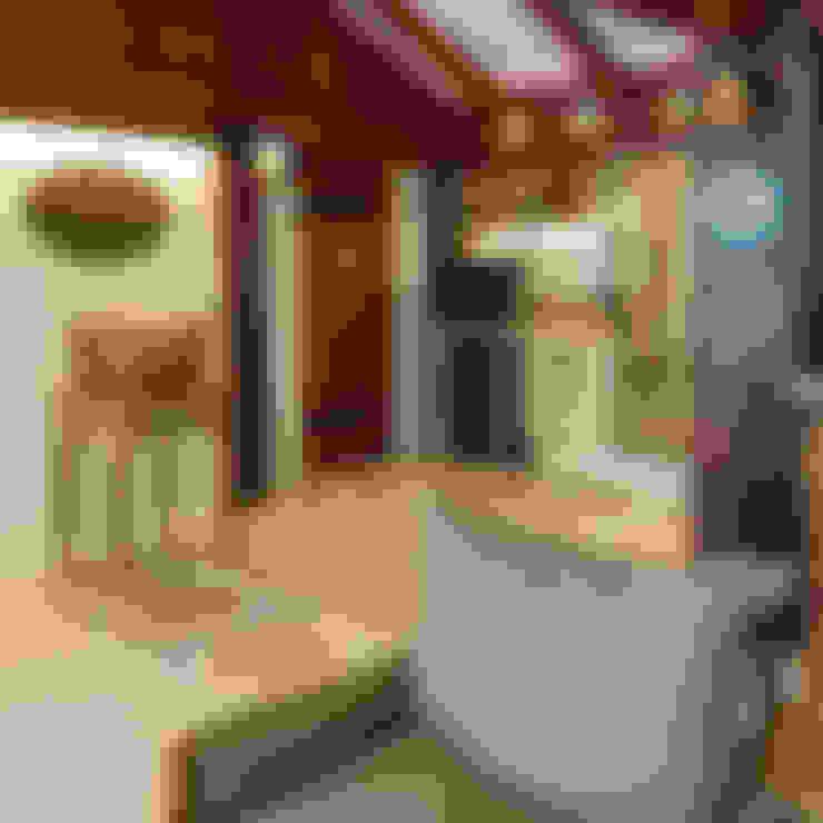 Terrazas de estilo  de Camila Tannous Arquitetura & Interiores