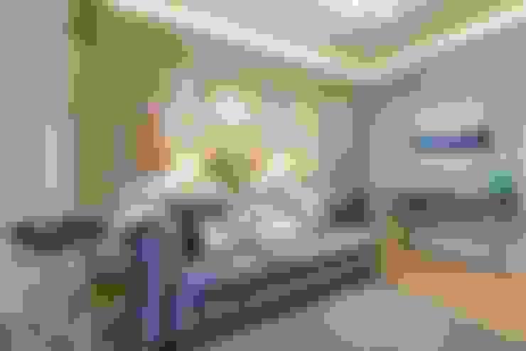 غرفة المعيشة تنفيذ Tony House Interior Design & Decoration