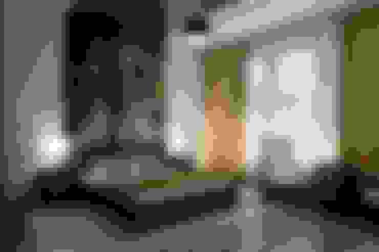 غرفة نوم تنفيذ Цунёв_Дизайн. Студия интерьерных решений.