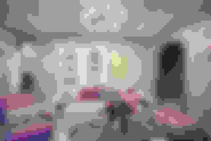 Шебби шик: Гостиная в . Автор – VITTA-GROUP
