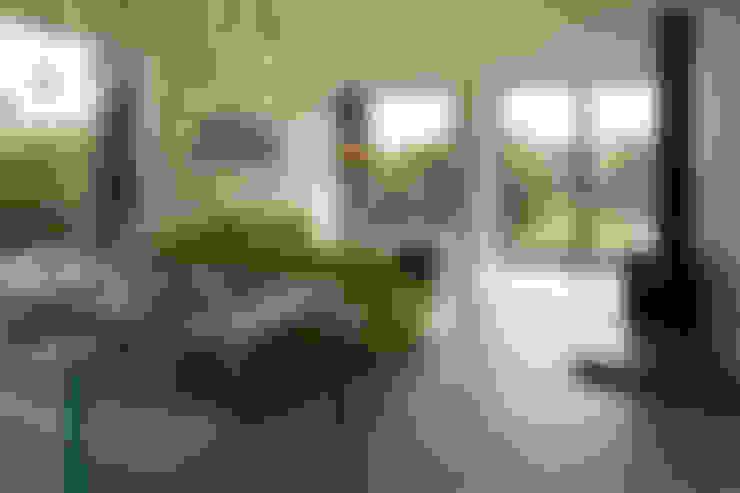 غرفة المعيشة تنفيذ Patrick Bradley Architects