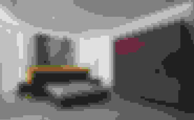 غرفة نوم تنفيذ Inan AYDOGAN /IA  Interior Design Office