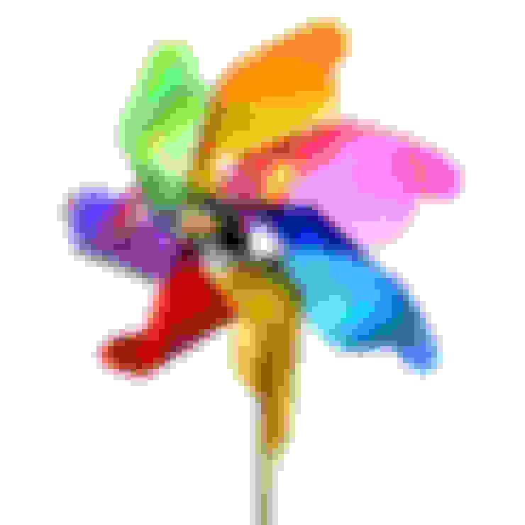Windmill on pick:  Tuin door Groothandel in decoratie en lifestyle artikelen