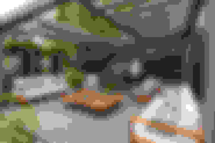 Casa Cor RS 2014: Jardins  por Plena Madeiras Nobres