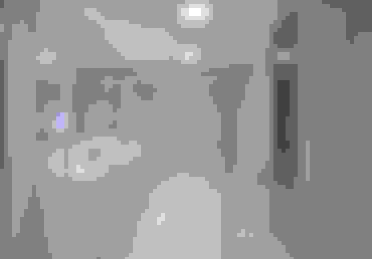 Saint Thomas - Cobertura Belvedere: Banheiro  por Anaíne Vieira Pitchon Arquitetura e Interiores