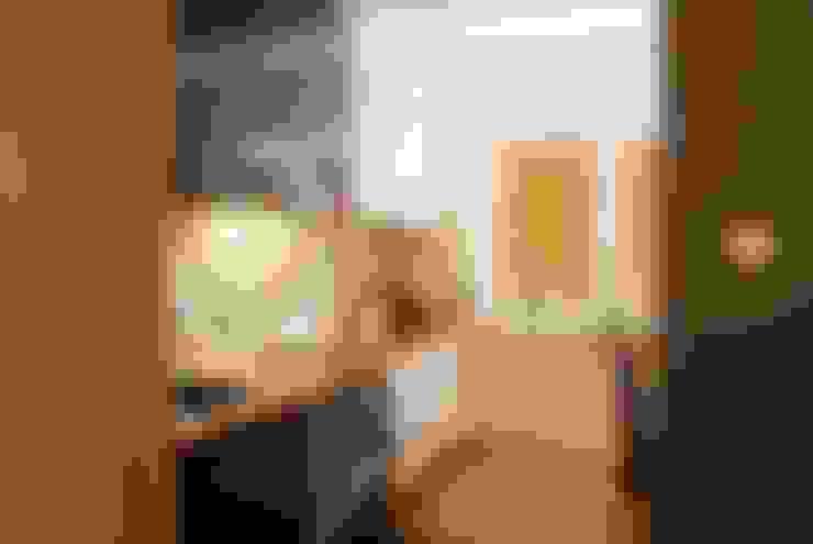 MIESZKANIE INSPIROWANE IMPRESIONIZMEM: styl , w kategorii Kuchnia zaprojektowany przez YNOX Architektura Wnętrz