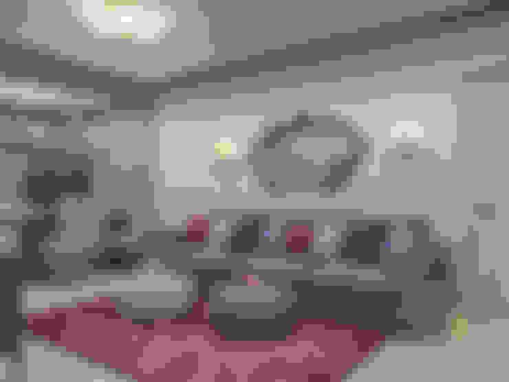 Новое звучание: Гостиная в . Автор – Premier Dekor