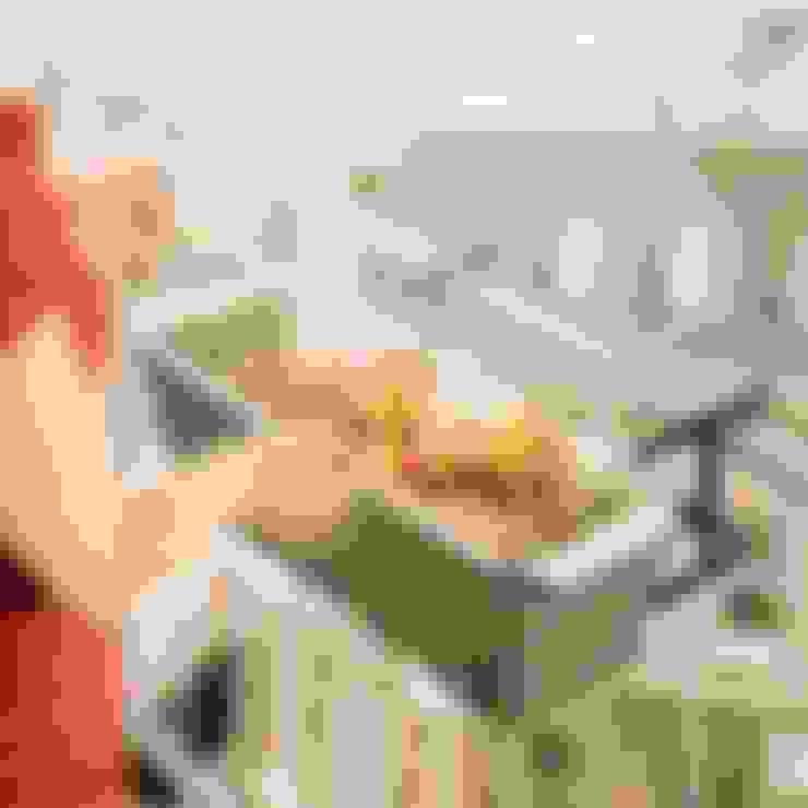 Balcon, Veranda & Terrasse de style  par Icool