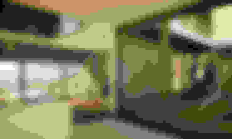 JLC House : Salas de estar  por ADAPT Arquitectos