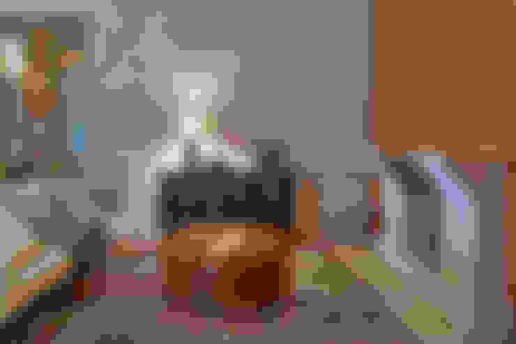 Sítio em Itaúna - MG: Salas de estar  por Beth Nejm