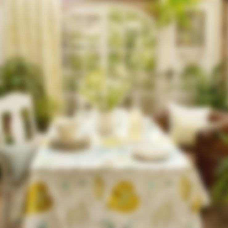 Dining room by Curtains Made Simple