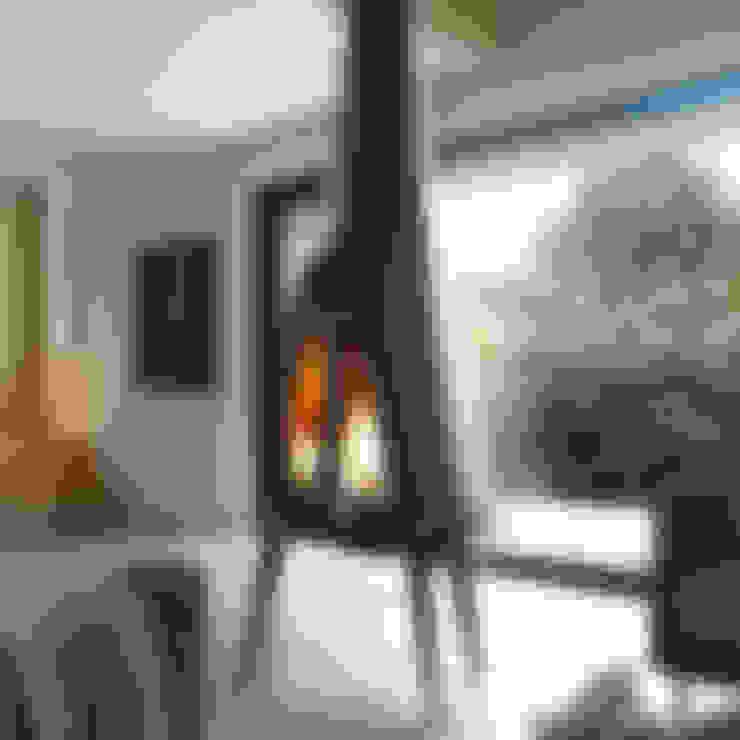 1001Keyif.com –  Pow Wow Şömine Soba:  tarz Oturma Odası