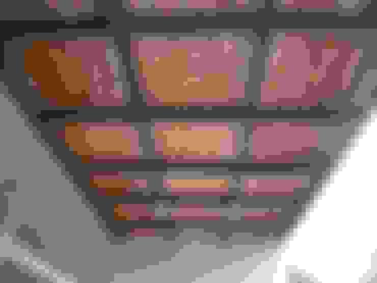Terrasse de style  par Kanela Bambu
